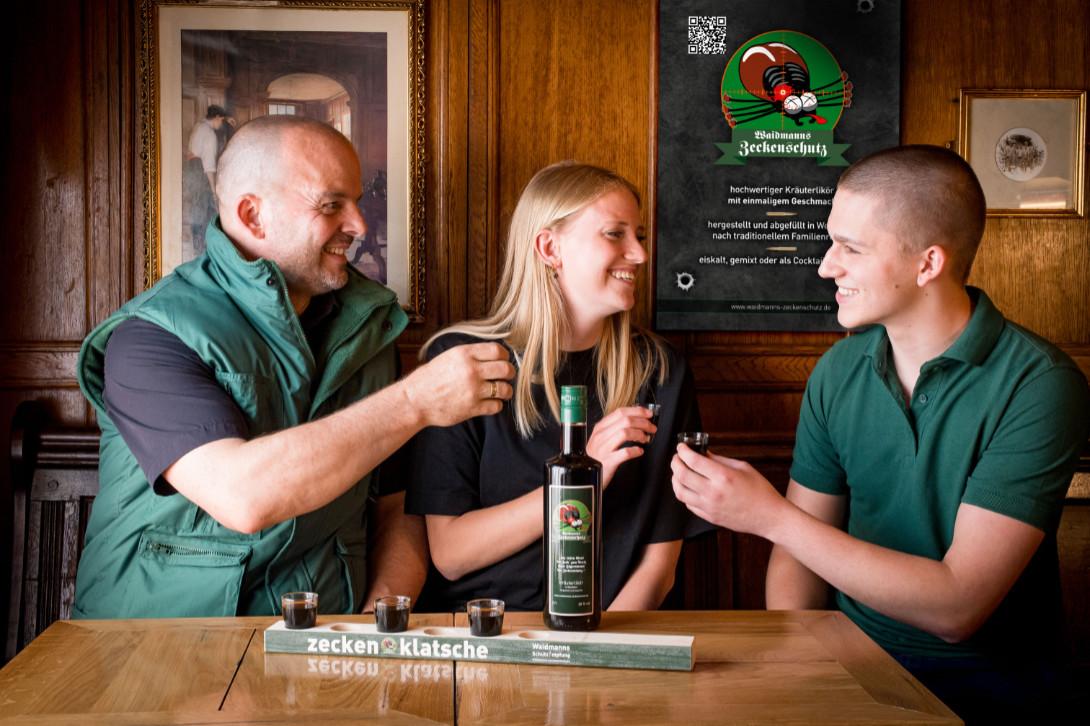 Waidmann-Zeckenschutz-Flasche